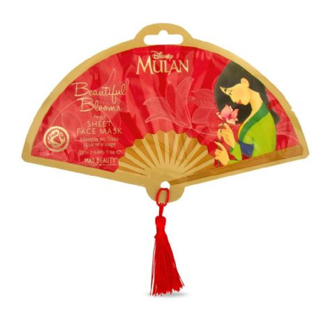 Disney Mulan Sheet Face Mask Beautiful Blooms Mad Beauty